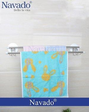 Kệ vắt khăn inox trong phòng tắm GS - 5001