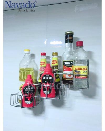 phụ kiện inox gia dụng dán kính màu bếp