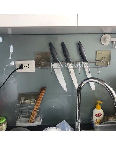 Giá treo dao đa năng dán tường nhà bếp