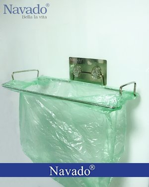 Kệ đựng rác treo tường thông minh