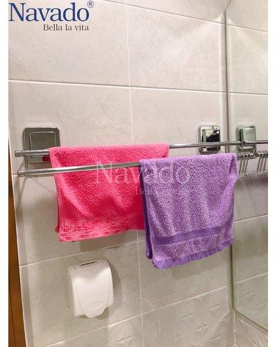 Thanh treo khăn đôi tiện ích