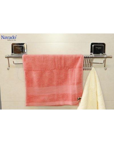 Vắt khăn dán một tầng Navado kèm móc treo