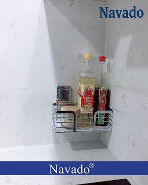 Giá treo đồ inox nhà bếp thông minh