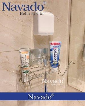 Kệ bàn chải inox nhà tắm chất lượng