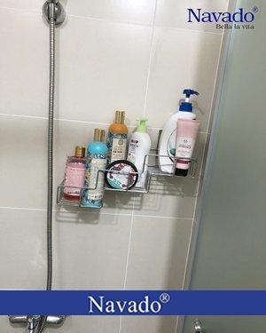 Kệ đựng đồ nhà tắm inox thông minh