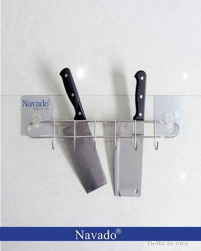 Kệ gia dụng lắp tường kính bếp