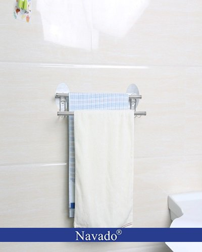 Phụ kiện inox gia dụng vắt khăn dán tường bếp
