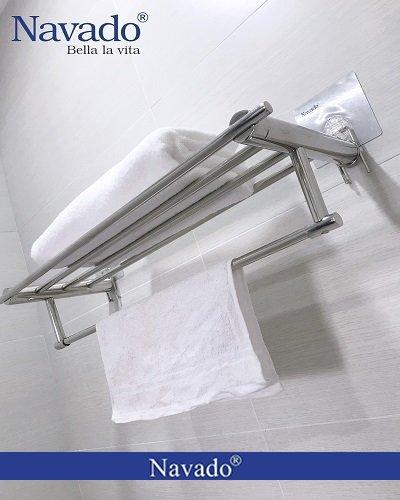 Giá treo khăn giàn inox
