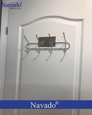 Phụ kiện inox phòng ngủ móc áo dán tường