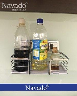 Phụ kiện inox gia dụng tiện ích dán kính bếp navado