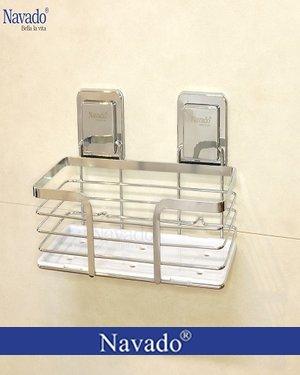 Phụ kiện inox phòng tắm dính tường siêu chắc GS - 5013