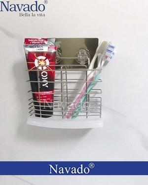 Phụ kiện phòng tắm kệ đựng bàn chải đánh răng