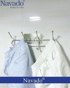 Móc treo quần áo gia dụng dán tường