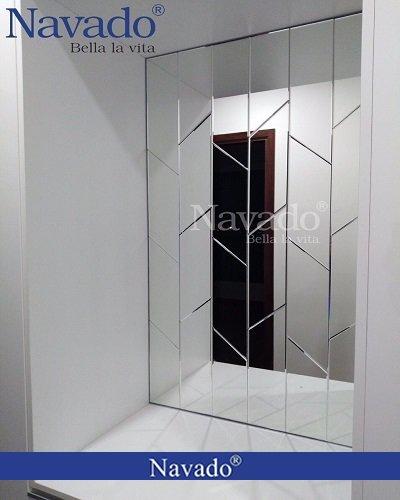 Gương ghép trang trí cho hành lang