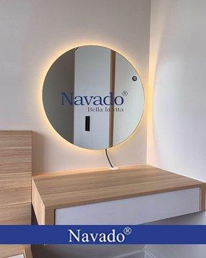 Gương trang điểm đèn led D600