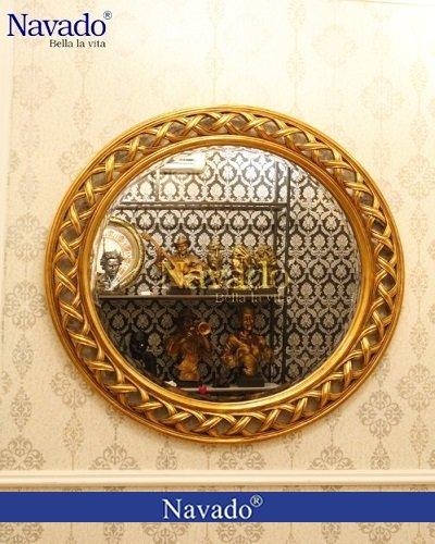 Gương tân cổ điển trang trí nghệ thuật Helios