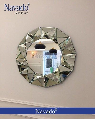 Gương treo phòng khách Queen Bee
