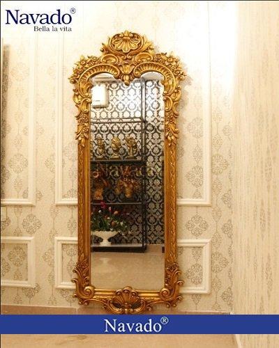Gương tân cổ điển trang trí nghệ thuật Hera