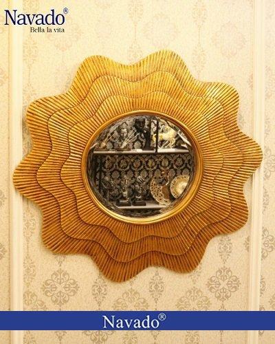 Gương tân cổ điển trang trí nghệ thuật Hestia