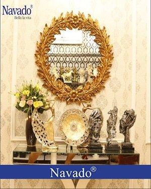 Gương tân cổ điển trang trí nghệ thuật Eros