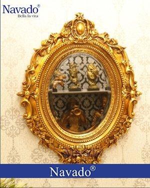 Gương tân cổ điển trang trí nghệ thuật Hypnos