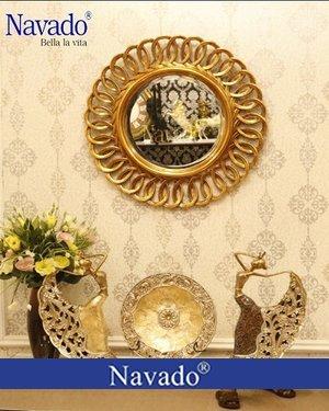 Gương tân cổ điển trang trí nghệ thuật Nesoi
