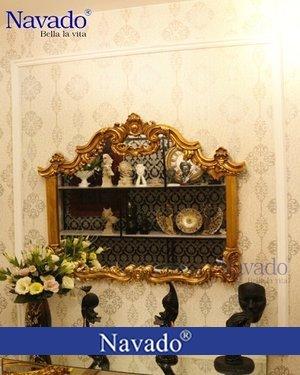 Gương tân cổ điển trang trí nghệ thuật Morpheus