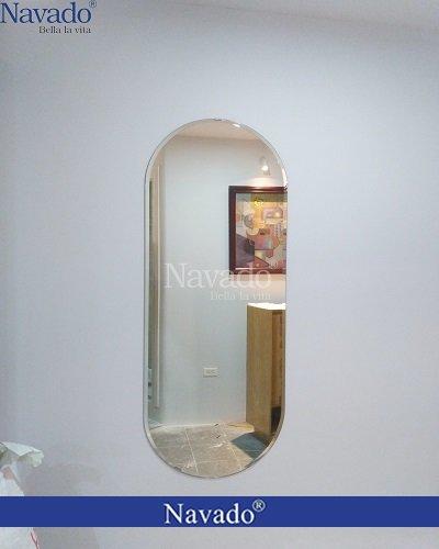 Gương trơn soi toàn thân treo tường