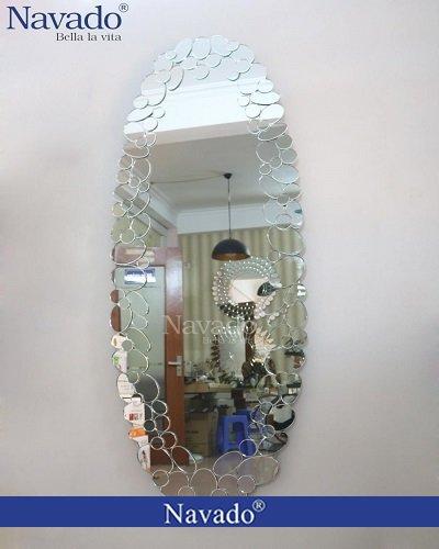 Gương đứng soi toàn thân phòng khách Dragon