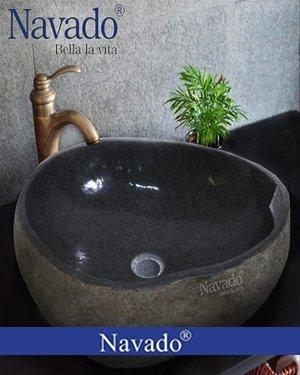 Chậu lavabo đá tự nhiên cho khách sạn