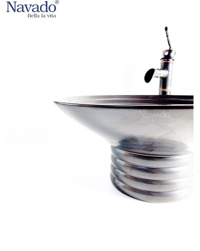 Bộ vòi chậu rửa mặt sứ nghệ thuật phòng tắm