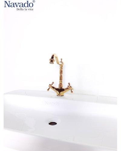 Trọn bộ thiết bị phòng tắm vòi chậu rửa mặt