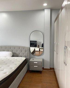 Gương cao cấp phôi bỉ trang trí phòng ngủ