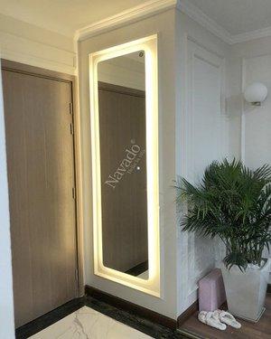 Gương soi toàn thân đèn led cảm ứng hành lang