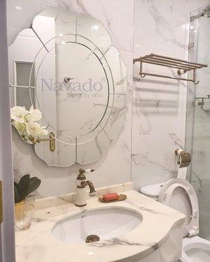 Gương nghệ thuật đẹp cho phòng tắm